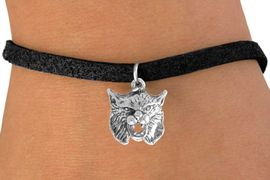 <bR>              EXCLUSIVELY OURS!!<BR>CLICK HERE TO SEE 65+ EXCITING<BR>  CHANGES THAT YOU CAN MAKE!<BR>             LEAD & NICKEL FREE!!<BR> W206SB - BOBCAT & BRACELET<Br>                  AS LOW AS $4.50