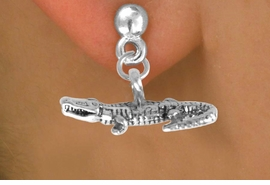 <bR>               EXCLUSIVELY OURS!<BR>CLICK HERE TO SEE 65+ EXCITING<BR>  CHANGES THAT YOU CAN MAKE!<BR>             LEAD & NICKEL FREE!!<BR>W210SE - ALLIGATOR  & EARRING<bR>                 FROM $4.50 TO $8.35
