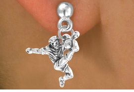 <bR>             EXCLUSIVELY OURS!!<BR>CLICK HERE TO SEE 65+ EXCITING<BR>  CHANGES THAT YOU CAN MAKE!<BR>            LEAD & NICKEL FREE!!<BR>    W224SE - SOCCER PLAYER &<Br>       EARRING FROM $4.50 TO $8.35