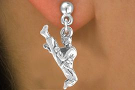 <bR>              EXCLUSIVELY OURS!!<BR>CLICK HERE TO SEE 65+ EXCITING<BR> CHANGES THAT YOU CAN MAKE!<BR>             LEAD & NICKEL FREE!!<BR>    W226SE - KARATE & EARRING<Br>                  FROM $4.50 TO $8.35