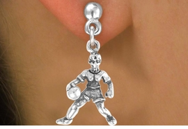<bR>              EXCLUSIVELY OURS!!<BR>CLICK HERE TO SEE 65+ EXCITING<BR> CHANGES THAT YOU CAN MAKE!<BR>             LEAD & NICKEL FREE!!<BR>     W227SE - GIRL BASKETBALL<Br>                 PLAYER & EARRING<br>                   FROM $4.50 TO $8.35