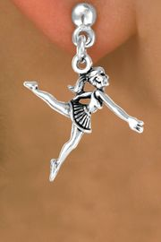 <bR>              EXCLUSIVELY OURS!!<BR>CLICK HERE TO SEE 65+ EXCITING<BR> CHANGES THAT YOU CAN MAKE!<BR>             LEAD & NICKEL FREE!!<BR> W231SE - BALLERINA & EARRING<Br>                  FROM $4.50 TO $8.35
