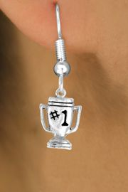 "<bR>              EXCLUSIVELY OURS!!<BR>CLICK HERE TO SEE 65+ EXCITING<BR> CHANGES THAT YOU CAN MAKE!<BR>             LEAD & NICKEL FREE!!<BR>        W233SE - ""#1"" TROPHY &<Br>        EARRING FROM $4.50 TO $8.35"