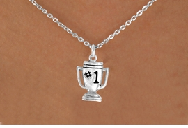 """<bR>              EXCLUSIVELY OURS!!<BR>CLICK HERE TO SEE 65+ EXCITING<BR> CHANGES THAT YOU CAN MAKE!<BR>             LEAD & NICKEL FREE!!<BR>        W233SN - """"#1"""" TROPHY &<br>      NECKLACE AS LOW AS $4.50"""