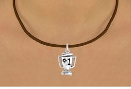"""<bR>              EXCLUSIVELY OURS!!<BR>CLICK HERE TO SEE 65+ EXCITING<BR> CHANGES THAT YOU CAN MAKE!<BR>             LEAD & NICKEL FREE!!<BR>        W233SN - """"#1"""" TROPHY & <br>      NECKLACE AS LOW AS $4.50"""
