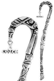 """<bR>              EXCLUSIVELY OURS!!<BR>CLICK HERE TO SEE 65+ EXCITING<BR> CHANGES THAT YOU CAN MAKE!<BR>             LEAD & NICKEL FREE!!<BR> W234SBM - """"COACH"""" MARQUEE<Br>BOOKMARK FROM $3.31 TO $6.25"""