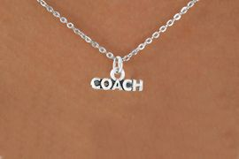"<bR>              EXCLUSIVELY OURS!!<BR>CLICK HERE TO SEE 65+ EXCITING<BR> CHANGES THAT YOU CAN MAKE!<BR>             LEAD & NICKEL FREE!!<BR>W234SN - ""COACH"" & NECKLACE<br>                  AS LOW AS $4.50"