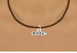 """<bR>              EXCLUSIVELY OURS!!<BR>CLICK HERE TO SEE 65+ EXCITING<BR> CHANGES THAT YOU CAN MAKE!<BR>             LEAD & NICKEL FREE!!<BR>W234SN - """"COACH"""" & NECKLACE<br>                  AS LOW AS $4.50"""