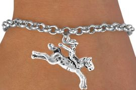 <bR>              EXCLUSIVELY OURS!!<BR>CLICK HERE TO SEE 65+ EXCITING<BR>  CHANGES THAT YOU CAN MAKE!<BR>             LEAD & NICKEL FREE!!<BR>      W235SB - BRONCO BUSTER<Br>    & BRACELET AS LOW AS $4.50