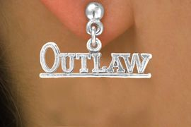 """<bR>              EXCLUSIVELY OURS!!<BR>CLICK HERE TO SEE 65+ EXCITING<BR> CHANGES THAT YOU CAN MAKE!<BR>            LEAD & NICKEL FREE!!<BR>    W237SE - """"OUTLAW"""" CHARM<Br>   & EARRINGS FROM $4.50 TO $8.35"""