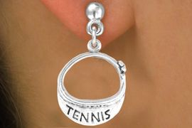 """<bR>                EXCLUSIVELY OURS!!<BR>  CLICK HERE TO SEE 65+ EXCITING<BR>    CHANGES THAT YOU CAN MAKE!<BR>               LEAD & NICKEL FREE!!<BR>W239SE - """"TENNIS"""" VISOR CHARM<Br>     & EARRINGS FROM $4.50 TO $8.35"""