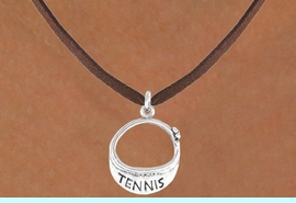"""<bR>                EXCLUSIVELY OURS!!<BR>  CLICK HERE TO SEE 65+ EXCITING<BR>    CHANGES THAT YOU CAN MAKE!<BR>               LEAD & NICKEL FREE!!<BR>W239SN - """"TENNIS"""" VISOR CHARM<Br>      & NECKLACE AS LOW AS $4.50"""