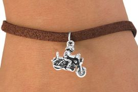 <bR>                  EXCLUSIVELY OURS!!<BR>    CLICK HERE TO SEE 65+ EXCITING<BR>      CHANGES THAT YOU CAN MAKE!<BR>                 LEAD & NICKEL FREE!!<BR>      W240SB - MOTORCYCLE BIKER<Br>CHARM & BRACELET AS LOW AS $4.50