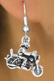 <bR>                  EXCLUSIVELY OURS!!<BR>    CLICK HERE TO SEE 65+ EXCITING<BR>      CHANGES THAT YOU CAN MAKE!<BR>                 LEAD & NICKEL FREE!!<BR>       W240SE - MOTORCYCLE BIKER<Br>CHARM & EARRINGS FROM $4.50 TO $8.35