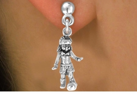 <bR>             EXCLUSIVELY OURS!!<BR>CLICK HERE TO SEE 65+ EXCITING<BR> CHANGES THAT YOU CAN MAKE!<BR>            LEAD & NICKEL FREE!!<BR>        W243SE - SOCCER GIRL &<Br>      EARRINGS FROM $4.50 TO $8.35