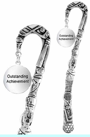 "<bR>              EXCLUSIVELY OURS!!<BR>CLICK HERE TO SEE 65+ EXCITING<BR> CHANGES THAT YOU CAN MAKE!!<BR>             LEAD & NICKEL FREE!!<BR>     W267SBM -  ""OUTSTANDING<Br>      ACHIEVEMENT"" BOOKMARK<bR>              FROM $3.31 TO $6.25"