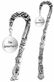 """<bR>              EXCLUSIVELY OURS!!<BR>CLICK HERE TO SEE 65+ EXCITING<BR>  CHANGES THAT YOU CAN MAKE!<BR>             LEAD & NICKEL FREE!!<BR> W283SBM -  """"THE GREATEST"""" &<Br>BOOKMARK FROM $3.31 TO $6.25"""