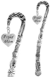 "<bR>                 EXCLUSIVELY OURS!!<BR>   CLICK HERE TO SEE 65+ EXCITING<BR>     CHANGES THAT YOU CAN MAKE!<BR>                LEAD & NICKEL FREE!!<BR>W320SBM -  ""PROUD MOM"" HEART<Br>  BOOKMARK FROM $3.31 TO $6.25"