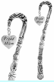 """<bR>                 EXCLUSIVELY OURS!!<BR>   CLICK HERE TO SEE 65+ EXCITING<BR>     CHANGES THAT YOU CAN MAKE!<BR>                LEAD & NICKEL FREE!!<BR>W320SBM -  """"PROUD MOM"""" HEART<Br>  BOOKMARK FROM $3.31 TO $6.25"""