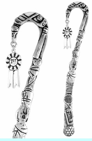 """<bR>              EXCLUSIVELY OURS!!<BR>CLICK HERE TO SEE 65+ EXCITING<BR>  CHANGES THAT YOU CAN MAKE!<BR>             LEAD & NICKEL FREE!!<BR>      W332SBM -  """"#1"""" RIBBON &<Br>BOOKMARK FROM $3.31 TO $6.25"""