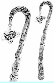"""<bR>              EXCLUSIVELY OURS!!<BR>CLICK HERE TO SEE 65+ EXCITING<BR>  CHANGES THAT YOU CAN MAKE!<BR>             LEAD & NICKEL FREE!!<BR>W353SBM -  """"CAPTAIN"""" CHARM &<Br>BOOKMARK FROM $3.31 TO $6.25"""