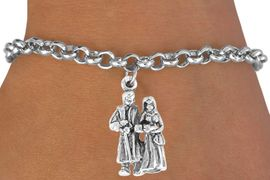 """<bR>             EXCLUSIVELY OURS!!<BR>CLICK HERE TO SEE 65+ EXCITING<BR> CHANGES THAT YOU CAN MAKE!<BR>             LEAD & NICKEL FREE!!<BR> W361SB - """"BABY'S BAPTISM"""" &<Br>  BRACELET FROM $4.50 TO $8.35"""
