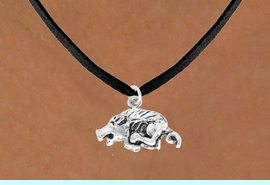 <bR>                EXCLUSIVELY OURS!!<BR>   CLICK HERE TO SEE 65+ EXCITING<BR>    CHANGES THAT YOU CAN MAKE!<BR>                LEAD & NICKEL FREE!!<BR>    W364SN - RAZORBACK OR WILD<br>BOAR & NECKLACE AS LOW AS $4.50