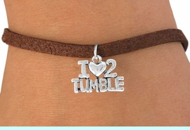 """<bR>             EXCLUSIVELY OURS!!<BR>CLICK HERE TO SEE 65+ EXCITING<BR> CHANGES THAT YOU CAN MAKE!<BR>             LEAD & NICKEL FREE!!<BR> W365SB - """"I LOVE 2 TUMBLE"""" &<Br>       BRACELET AS LOW AS $4.50"""