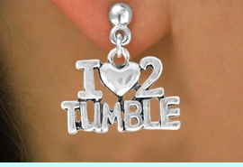 "<bR>              EXCLUSIVELY OURS!!<BR>CLICK HERE TO SEE 65+ EXCITING<BR> CHANGES THAT YOU CAN MAKE!<BR>             LEAD & NICKEL FREE!!<BR> W365SE - ""I LOVE 2 TUMBLE"" &<Br>       EARRING FROM $4.50 TO $8.35"