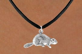 <bR>             EXCLUSIVELY OURS!!<BR>CLICK HERE TO SEE 65+ EXCITING<BR> CHANGES THAT YOU CAN MAKE!<BR>            LEAD & NICKEL FREE!!<BR> W368SN - BEAVER & NECKLACE<bR>                  AS LOW AS $4.50