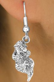 <bR>             EXCLUSIVELY OURS!!<BR>CLICK HERE TO SEE 65+ EXCITING<BR> CHANGES THAT YOU CAN MAKE!<BR>            LEAD & NICKEL FREE!!<BR>     W369SE - OTTER & EARRING<BR>                 FROM $4.50 TO $8.35