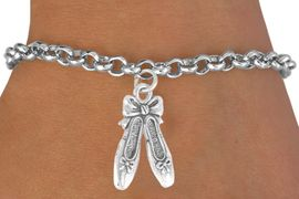 <bR>              EXCLUSIVELY OURS!!<BR>CLICK HERE TO SEE 65+ EXCITING<BR>  CHANGES THAT YOU CAN MAKE!<BR>             LEAD & NICKEL FREE!!<BR>    W376SB - BALLET SLIPPERS &<BR>       BRACELET AS LOW AS $4.50