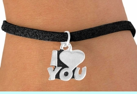 """<bR>             EXCLUSIVELY OURS!!<BR>CLICK HERE TO SEE 65+ EXCITING<BR>  CHANGES THAT YOU CAN MAKE!<BR>             LEAD & NICKEL FREE!!<BR>        W380SB - """"I LOVE YOU"""" &<BR>       BRACELET AS LOW AS $4.50"""