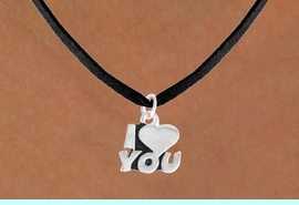 """<bR>             EXCLUSIVELY OURS!!<BR>CLICK HERE TO SEE 65+ EXCITING<BR> CHANGES THAT YOU CAN MAKE!<BR>            LEAD & NICKEL FREE!!<BR>       W380SN - """"I LOVE YOU"""" &<Br>      NECKLACE AS LOW AS $4.50"""