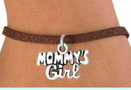 """<bR>             EXCLUSIVELY OURS!!<BR>CLICK HERE TO SEE 65+ EXCITING<BR>  CHANGES THAT YOU CAN MAKE!<BR>             LEAD & NICKEL FREE!!<BR>     W382SB - """"MOMMY'S GIRL""""<BR>    & BRACELET AS LOW AS $4.50"""