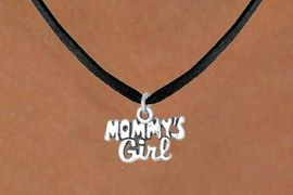 """<bR>              EXCLUSIVELY OURS!!<BR>CLICK HERE TO SEE 65+ EXCITING<BR> CHANGES THAT YOU CAN MAKE!<BR>             LEAD & NICKEL FREE!!<BR>  W382SN - """"MOMMY'S GIRL"""" &<Br>       NECKLACE AS LOW AS $4.50"""