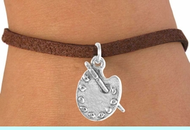 """<bR>             EXCLUSIVELY OURS!!<BR>CLICK HERE TO SEE 65+ EXCITING<BR> CHANGES THAT YOU CAN MAKE!<BR>            LEAD & NICKEL FREE!!<BR> W392SB - """"PAINTER'S PALETTE""""<BR>   & BRACELET AS LOW AS $4.50"""