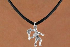 <bR>             EXCLUSIVELY OURS!!<BR>CLICK HERE TO SEE 65+ EXCITING<BR> CHANGES THAT YOU CAN MAKE!<BR>            LEAD & NICKEL FREE!!<BR>  W394SN - 3-D TENNIS PLAYER <Br>   & NECKLACE AS LOW AS $4.50