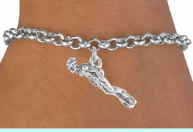 <bR>             EXCLUSIVELY OURS!!<BR>CLICK HERE TO SEE 65+ EXCITING<BR> CHANGES THAT YOU CAN MAKE!<BR>            LEAD & NICKEL FREE!!<BR>   W395SB - MALE SCUBA DIVER<BR>    & BRACELET AS LOW AS $4.50