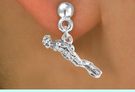 <bR>             EXCLUSIVELY OURS!!<BR>CLICK HERE TO SEE 65+ EXCITING<BR> CHANGES THAT YOU CAN MAKE!<BR>            LEAD & NICKEL FREE!!<BR>   W395SE - MALE SCUBA DIVER<Br>     & EARRING FROM $4.50 TO $8.35