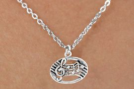 <bR>              EXCLUSIVELY OURS!!<BR>CLICK HERE TO SEE 65+ EXCITING<BR>  CHANGES THAT YOU CAN MAKE!<BR>             LEAD & NICKEL FREE!!<BR>       W399SN - MUSIC NOTES &<Br>      NECKLACE AS LOW AS $4.50