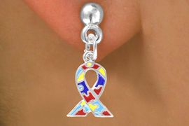 <bR>             EXCLUSIVELY OURS!!<BR>CLICK HERE TO SEE 65+ EXCITING<BR> CHANGES THAT YOU CAN MAKE!<BR>            LEAD & NICKEL FREE!!<BR>  W407SE - AUTISM AWARENESS<BR>       RIBBON & EARRING &#169;2010<Br>             FROM $4.50 TO $8.35