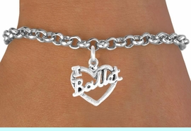 """<bR>             EXCLUSIVELY OURS!!<BR>CLICK HERE TO SEE 65+ EXCITING<BR> CHANGES THAT YOU CAN MAKE!<BR>            LEAD & NICKEL FREE!!<BR>    W412SB - """"I LOVE BALLET"""" &<BR>      BRACELET AS LOW AS $4.50"""