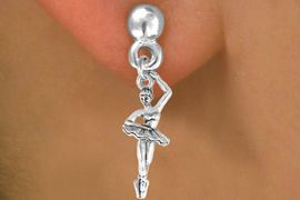 <bR>             EXCLUSIVELY OURS!!<BR>CLICK HERE TO SEE 65+ EXCITING<BR> CHANGES THAT YOU CAN MAKE!<BR>            LEAD & NICKEL FREE!!<BR>W416SE - BALLERINA & EARRING<Br>                FROM $4.50 TO $8.35