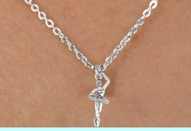 <bR>              EXCLUSIVELY OURS!!<BR>CLICK HERE TO SEE 65+ EXCITING<BR> CHANGES THAT YOU CAN MAKE!<BR>             LEAD & NICKEL FREE!!<BR>W416SN - BALLERINA & NECKLACE<Br>                  AS LOW AS $4.50