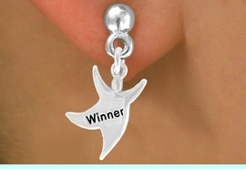 """<bR>              EXCLUSIVELY OURS!!<BR>CLICK HERE TO SEE 65+ EXCITING<BR> CHANGES THAT YOU CAN MAKE!<BR>             LEAD & NICKEL FREE!!<BR> W420SE - """"WINNER"""" STAR MAN<Br>     & EARRING FROM $4.50 TO $8.35"""