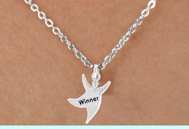 """<bR>              EXCLUSIVELY OURS!!<BR>CLICK HERE TO SEE 65+ EXCITING<BR> CHANGES THAT YOU CAN MAKE!<BR>             LEAD & NICKEL FREE!!<BR> W420SN - """"WINNER"""" STAR MAN<Br>    & NECKLACE AS LOW AS $4.50"""