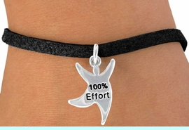 """<bR>              EXCLUSIVELY OURS!!<BR> CLICK HERE TO SEE 65+ EXCITING<BR>  CHANGES THAT YOU CAN MAKE!<BR>             LEAD & NICKEL FREE!!<BR>  W422SB - """"100% EFFORT"""" STAR<BR>MAN & BRACELET AS LOW AS $4.50"""