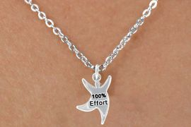 "<bR>              EXCLUSIVELY OURS!!<BR> CLICK HERE TO SEE 65+ EXCITING<BR>  CHANGES THAT YOU CAN MAKE!<BR>              LEAD & NICKEL FREE!!<BR>  W422SN - ""100% EFFORT"" STAR<Br>MAN & NECKLACE AS LOW AS $4.50"