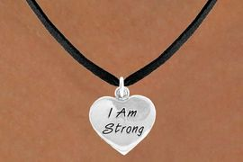 """<bR>              EXCLUSIVELY OURS!!<BR>CLICK HERE TO SEE 65+ EXCITING<BR> CHANGES THAT YOU CAN MAKE!<BR>             LEAD & NICKEL FREE!!<BR>W424SN - """"I AM STRONG"""" HEART<br>& NECKLACE FROM $4.50 TO $8.35<BR>                        �2012"""